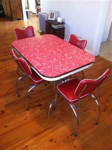 1000+ images about 1950s60 dining settings  red on