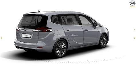 Opel Zafria by 2017 Opel Zafira Facelift Leaked On Gm Website Here Are