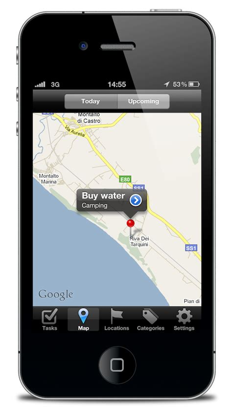iphone location task aware location aware gtd for iphone macstories