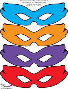 masks ninja turtles party hats  printable ideas
