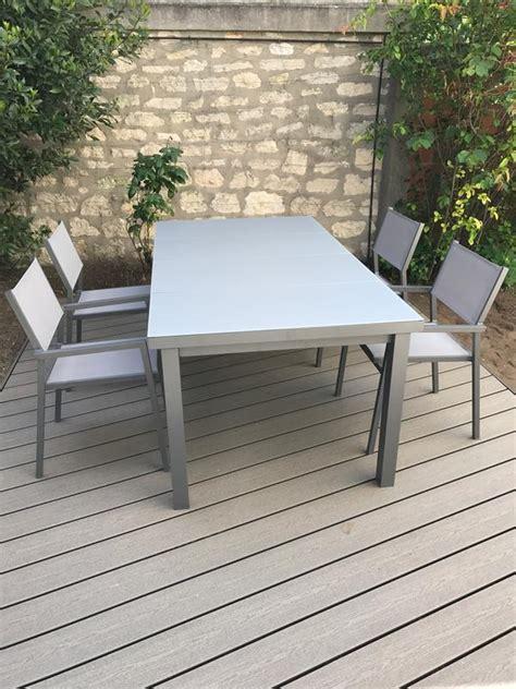 Table De Jardin Niagara. Good Table Jardin Composite Leroy Merlin ...