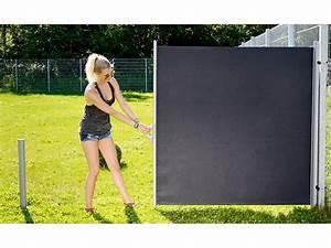 Seitenmarkise Ausziehbar 4 M : royal gardineer windschutz seitenmarkise 180 x 300 cm ~ Whattoseeinmadrid.com Haus und Dekorationen