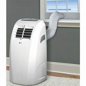 Lg Lp1015wnr 10 000 Btu Portable Air Conditioner  U0026 Dehumidifier Function Remote