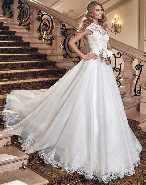 buy romantic lace wedding dress