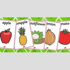 #vocabulary #flashcards Of #food Fruits And Vegetables  Retirement Party  Fruits, Vegetables