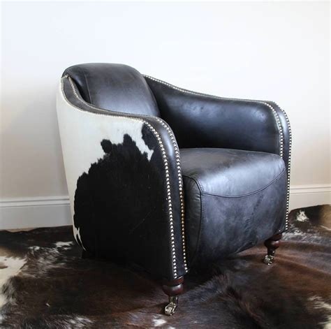 black and white cowhide chairs modern home interiors