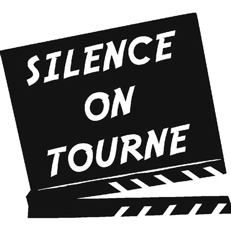 panneau mural cuisine stickers silence on tourne stick