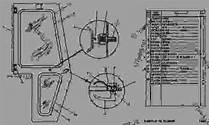 2v4755 Basic Door Group--r H  - Track-type Loader Caterpillar 951b