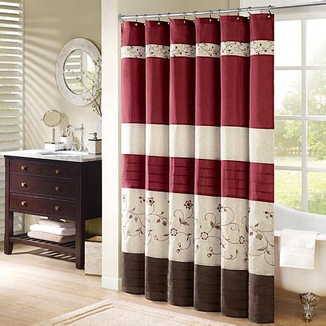 shower curtain 54 x 78 park serene embroidered shower curtain 54 quot x
