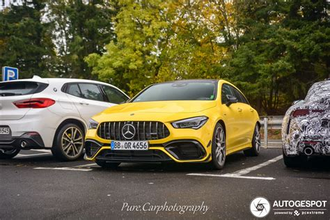 With the rear seats in place, the capacity is. Mercedes-AMG CLA 45 S Shooting Brake X118 - 31 October ...