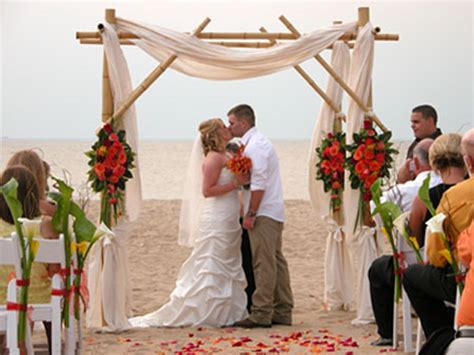 Bamboo Wedding Arches On Sale Plus Free Shipping At