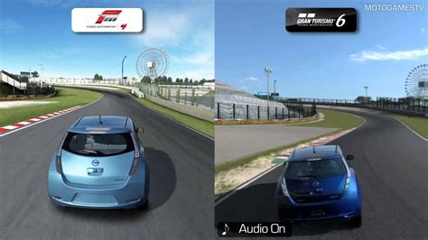 Forza Vs Gran Turismo Realism by Forza Motorsport 4 Vs Gran Turismo 6 Demo Suspension