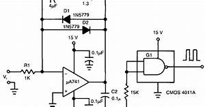 Schematic Diagram  Build A Voltage To Frequency Converter