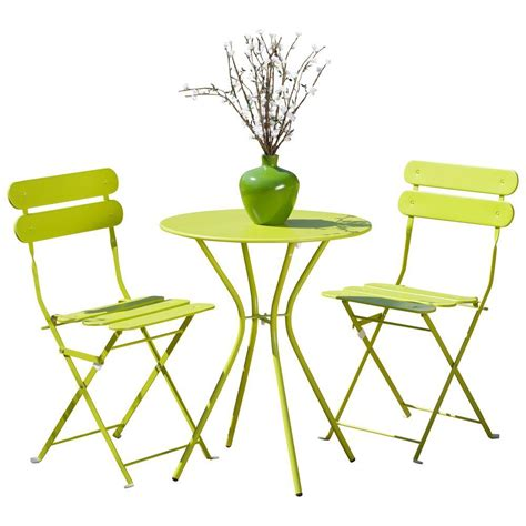 rst brands sol green 3 patio bistro set op bs3 sol