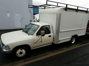 1991 Toyota Pickup 1 Ton Dually Box Truck Ex Budget Rental