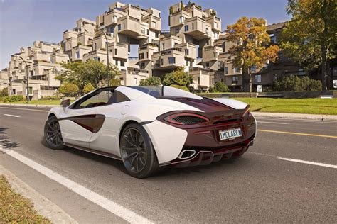 Canada Gets Its Own Special Edition Mclaren 570s Spider