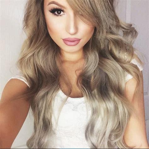 intense ash blonde hair color hair colar  cut style