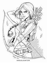 Drawings Coloring Lord Rings Katniss Kelleeart Ink Deviantart Vrouw Kleurplaat Malvorlage Line Kellee Riley Drawing Dessin Books Cool Coloriage Games sketch template