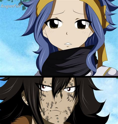 fairy tail anime gajeel gajeel and levy fairy tail manga 486 by roguefull on