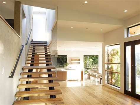 split level bedroom mill valley contemporary split level staircase to master