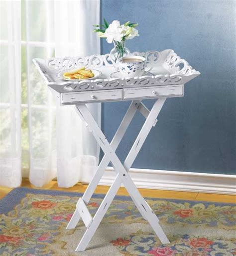shabby chic tray table bed side table shabby chic tray table wholesale at koehler home decor diy pinterest trays