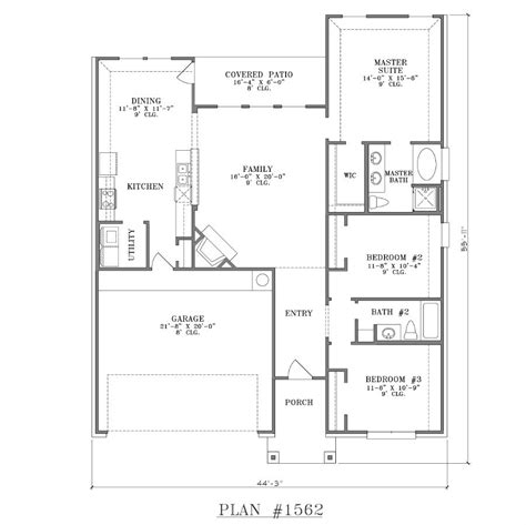 house plan three bedroom house plans plan floor plan decorate my
