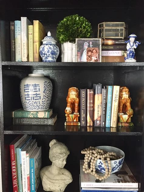 Decorating A Bookcase by My Simple Bookshelf Re Styling Emily A Clark