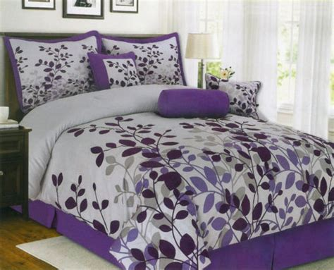 details about clearance sale 7pc king queen purple