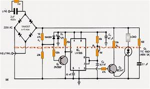 transformerless power supply circuit with surge free zero With ac power circuit