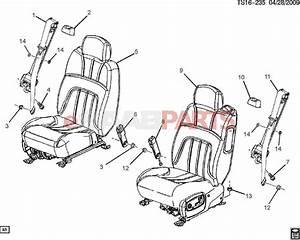 19177470  Saab Belt Kit  P  Seat