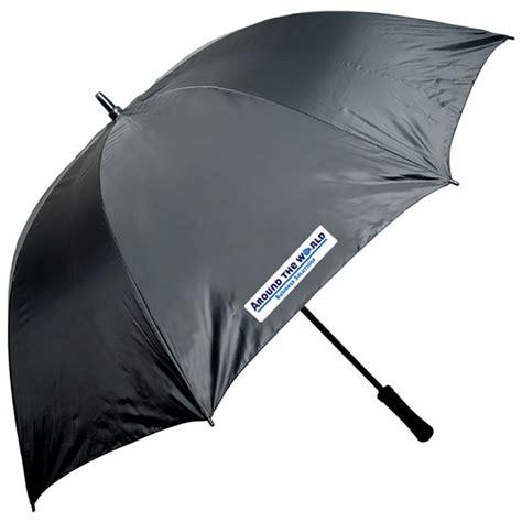 parapluie de golf avec manche noir en fibre de verre