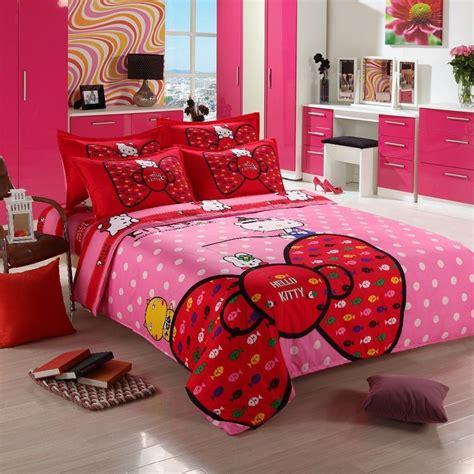 Hello Kitty Queen Bedding Set - Home Furniture Design