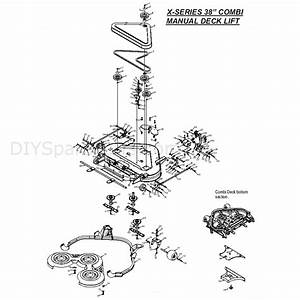 Countax X Series Rider 2010  2010  Parts Diagram  38 Inch