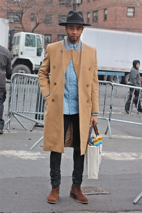 men street style from new york fashion week fall