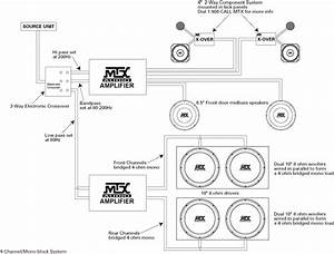 System Diagram Examples Mtx Audio