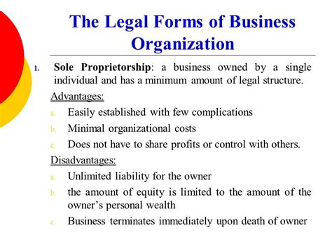 legal form of organization financial management i and ii ppt video online download
