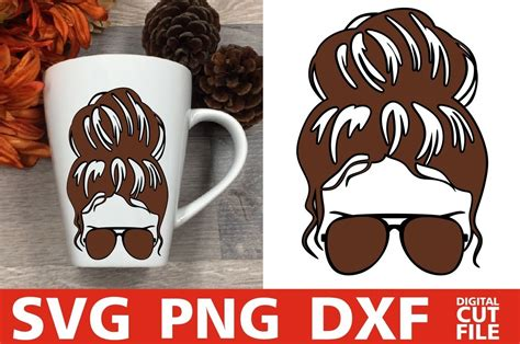 Black women messy bun juneteenth svg, juneteenth day svg, messy bun juneteenth svg,black pride juneteenth svg, digital cut file, ★ instant download ★ • the files are available immediately for download after purchase. Beauty Woman In Messy Bun svg, Glasses svg, Brown Hair svg ...