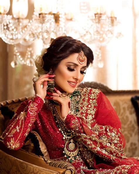 Gorgeous Actress Ayeza Khan Latest Beautiful Bridal Photo ...