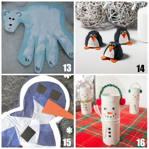 20 preschool winter crafts 871 | Winter Crafts for Preschoolers Teaching 2 and 3 Year Olds 4