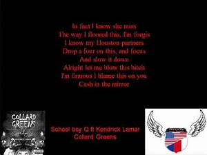 Collard Greens Kendrick Lamar Lyrics - ScHoolBoy Q ...