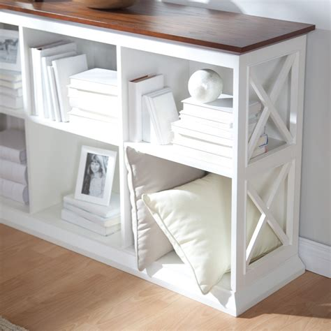 Bookcase Console Table by Belham Living Hton Console Table 2 Shelf Bookcase