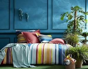 Housse De Couette Exotique : linge de lit exotique couleurs rayures essix ~ Teatrodelosmanantiales.com Idées de Décoration