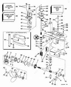 Evinrude 1998 30 - Be30balecs  Gearcase