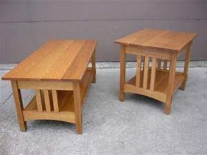 simple oak mission style coffee table and end table design With how to give style on unique coffee tables