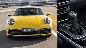 The 2020 Porsche 992 Manual Transmission Is Finally Here