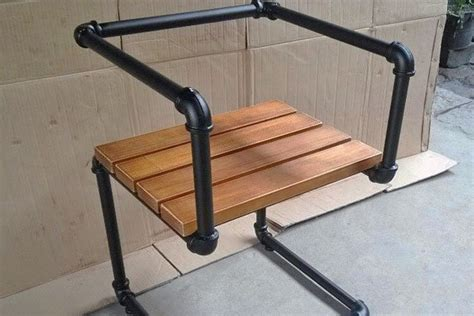 how to build a pipe l 5 industrial style pipe chairs how to build them