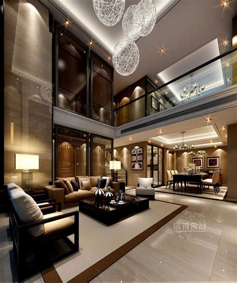 mansion living room with tv 37 fascinating luxury living rooms designs Modern