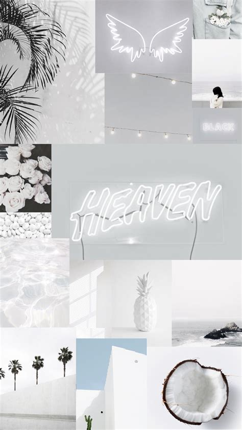 white aesthetic iphone wallpapers