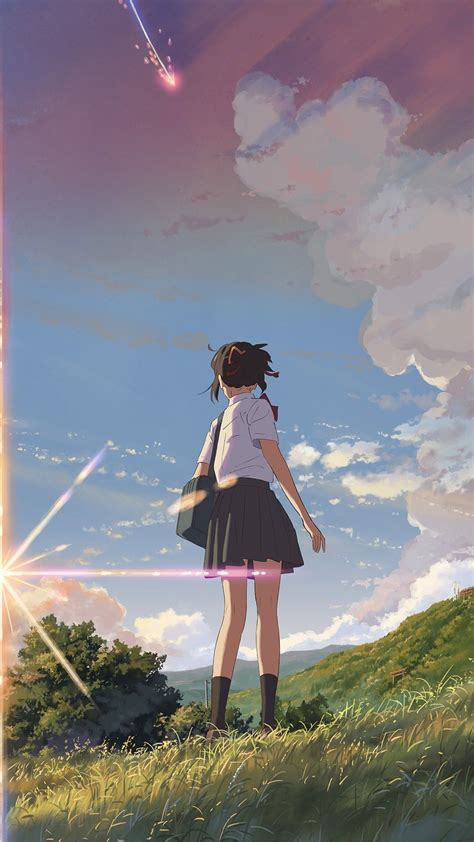 your name anime aesthetic wallpapers