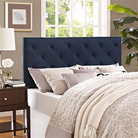 Fabric Headboard by Theodore Fabric Headboard Tufted Navy Dcg Stores
